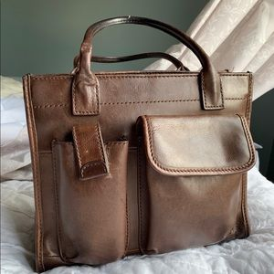 Vintage Fossil Leather Handbag